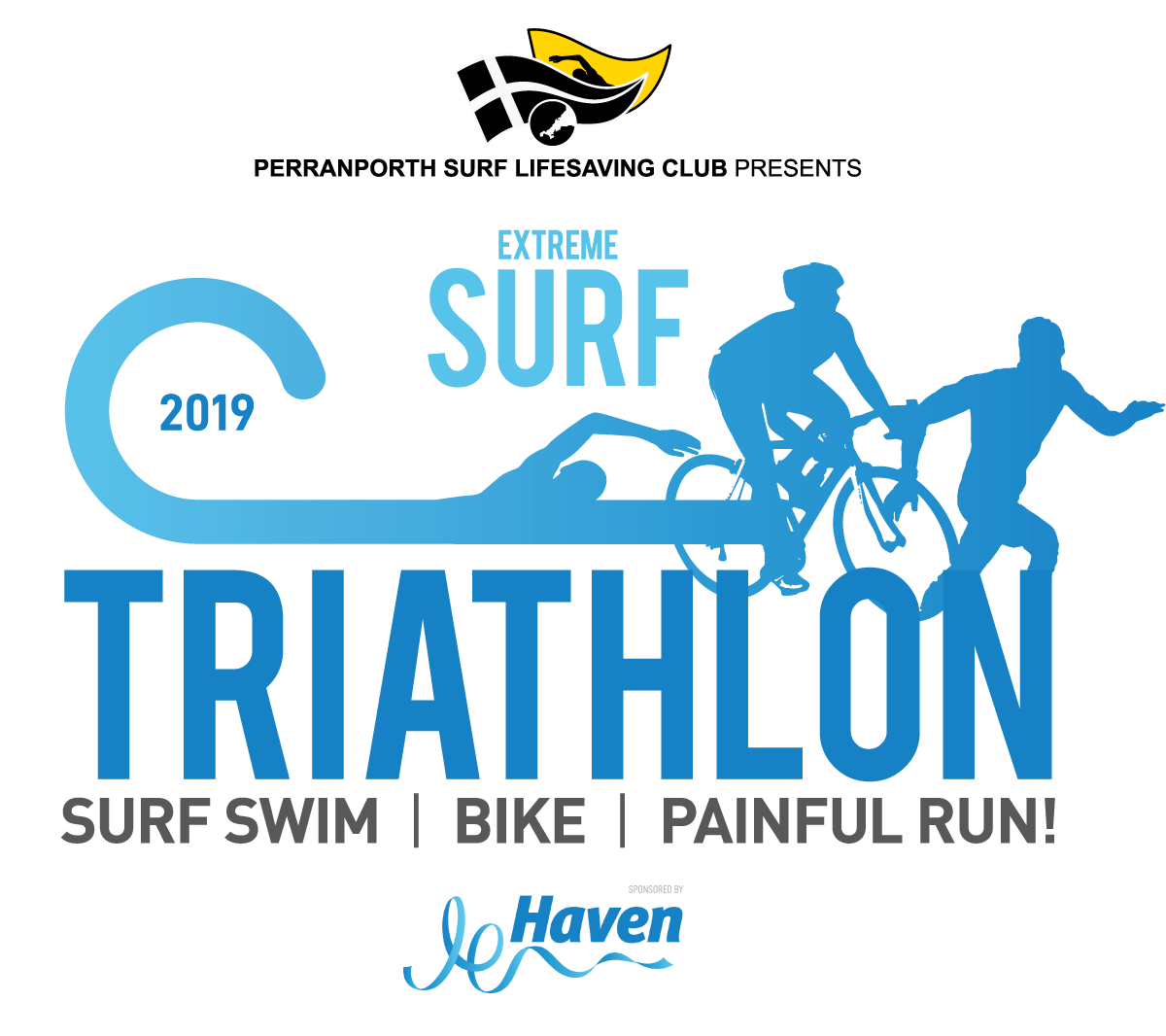 Perranporth Surf Triathlon 2019