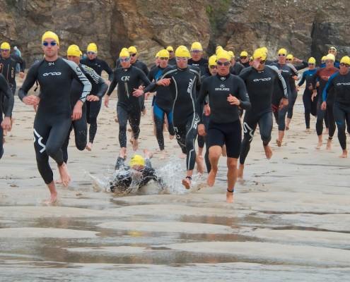 Perranporth Triathlon 2013