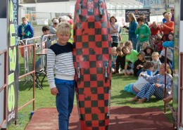 Freddy With Nipper board